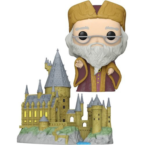 Harry Potter - Hogwarts with Albus Dumbledore 20th Anniversary Pop! Town