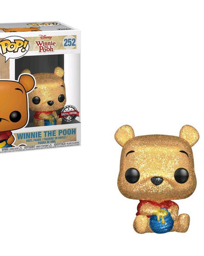 POP! Vinyl Winnie the Pooh - Winnie the Pooh Diamond Glitter US Exclusive 252