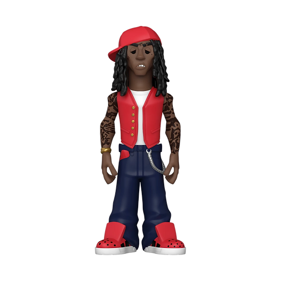 "Funko Vinyl Gold Premium Lil Wayne Figure 5"" Form Factor Collectible"