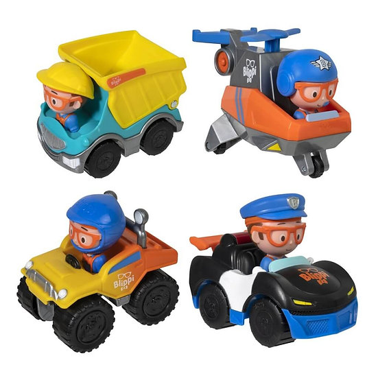 Blippi Mini Figures Assorted