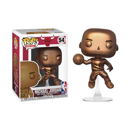 POP! Vinyl  NBA: Bulls - Michael Jordan Bronzed US Exclusive 54