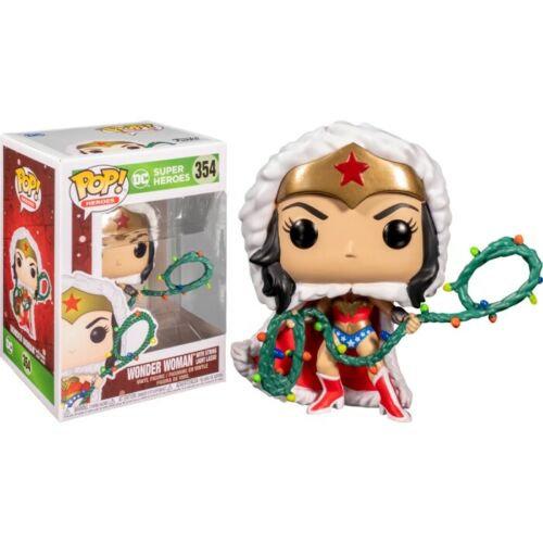 POP! Vinyl Wonder Woman with Lights Lasso Holiday 354