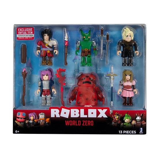 ROBLOX - 6 Figure Multipack- World Zero WAVE 8