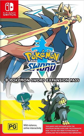 Pokemon Sword + Pokemon Sword Expansion Pass