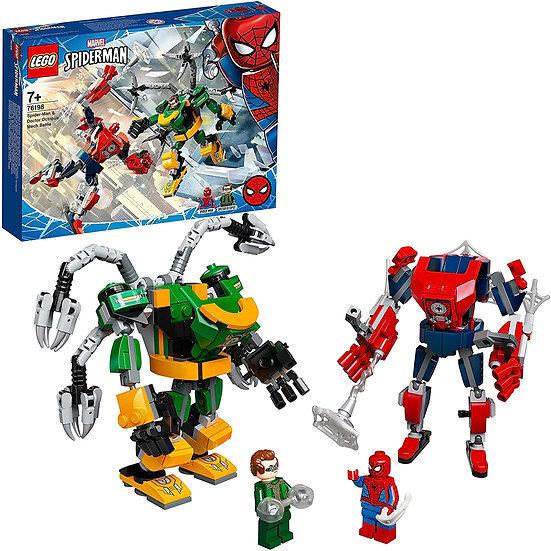 LEGO Spider-Man & Doctor Octopus Mech Battle 76198
