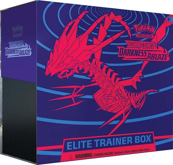 POKÉMON TCG Sword and Shield- Darkness Ablaze Trainer Box