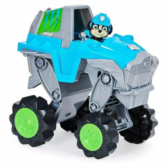 Paw Patrol Dino Rescue Rex's Deluxe Rev Up Vehicle