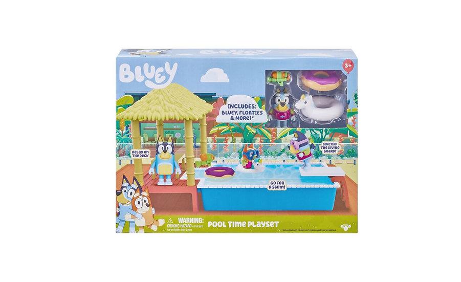 Bluey Pool Time Fun - Bluey