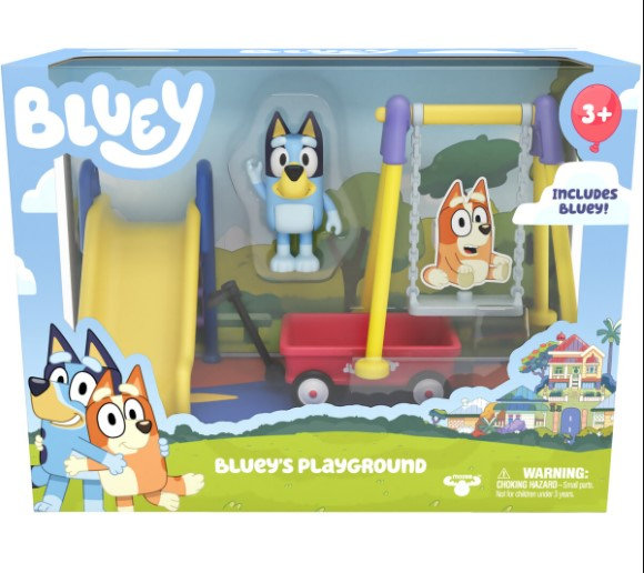 Bluey Series 3 Mini Playset assorted