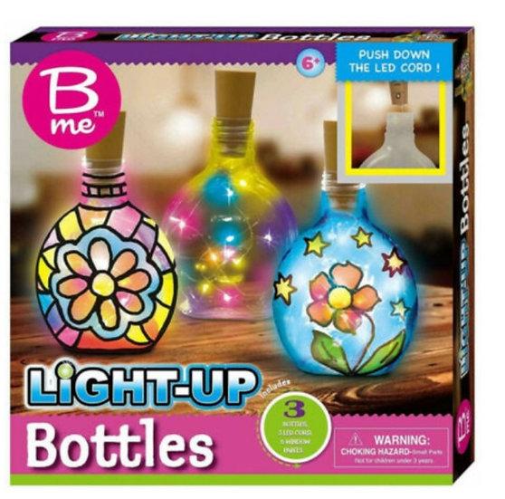 Light Up Bottles Craft Set