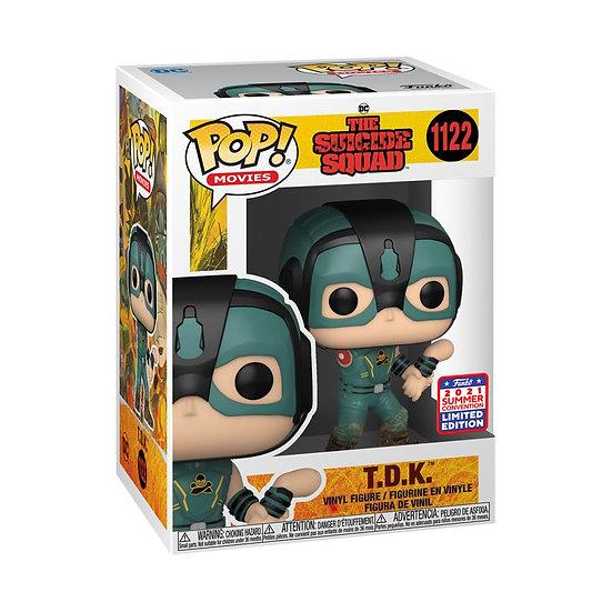Pop! Vinyl FunKon 2021 The Suicide Squad - T.D.K.
