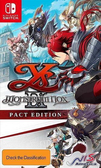 Ys IX: Monstrum Nox Pact Edition