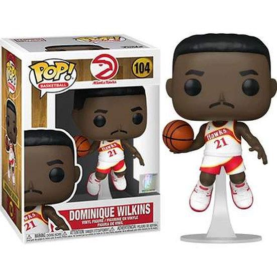 POP! Vinyl NBA: Legends - Dominique Wilkins Hawks Home 104