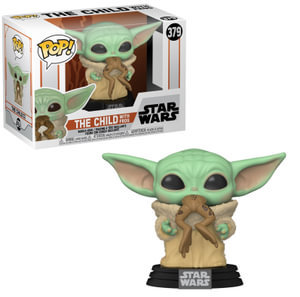 POP! Vinyl Star Wars: The Mandalorian - The Child with Frog 379