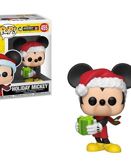 Pop! Vinyl Mickey Mouse - 90th Anniversary Holiday Mickey