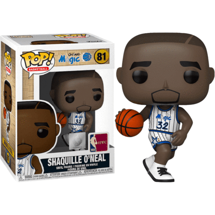 POP! Vinyl NBA Legends - Shaquille O'Neal (Magic Home) 81