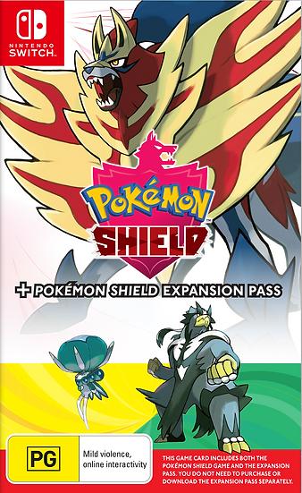 Pokemon Pokemon Shield + Pokemon Shield Expansion Pass