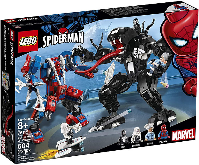 LEGO Super Heroes Marvel Spider Mech Vs. Venom
