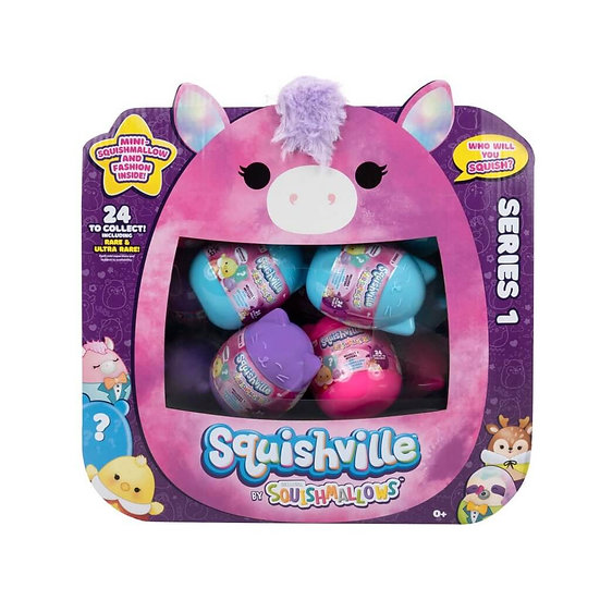 Squishville Mystery Mini Plush Squishmallow Assorted
