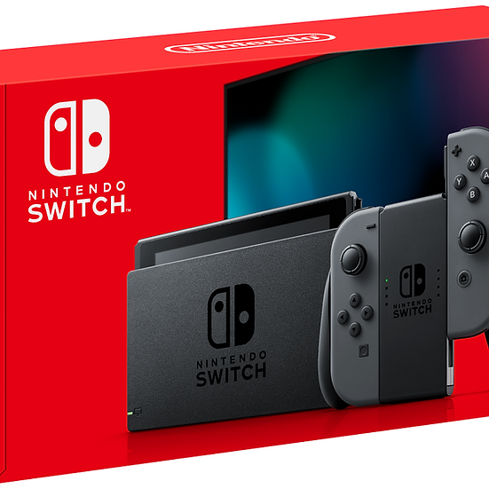 Nintendo Switch Console - Black/Gray
