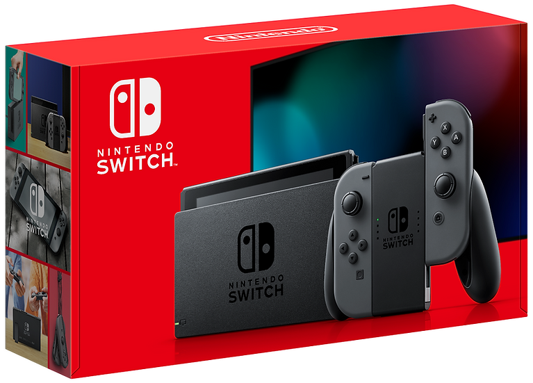 Nintendo Switch Console - Black/Gray