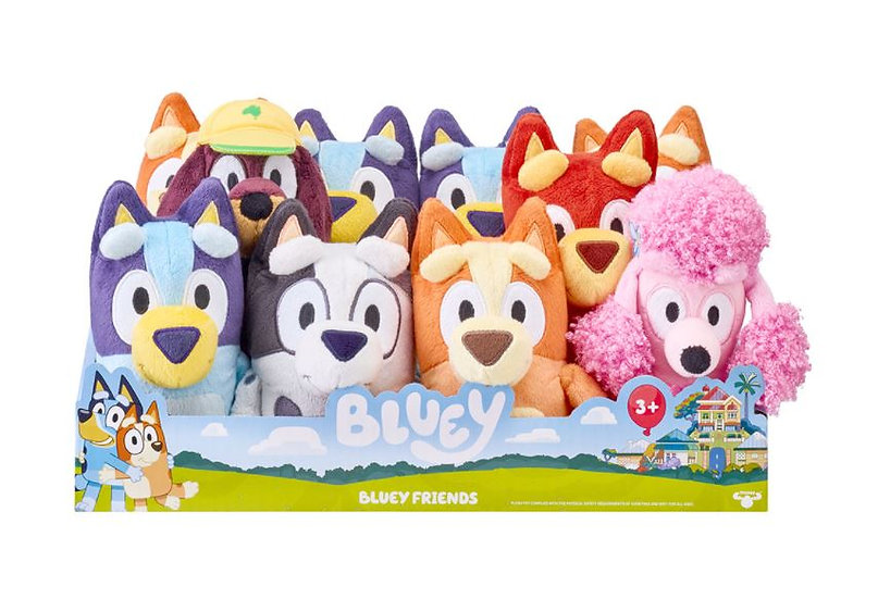 """Bluey 8"""" Classic Plush - Assorted Characters"""