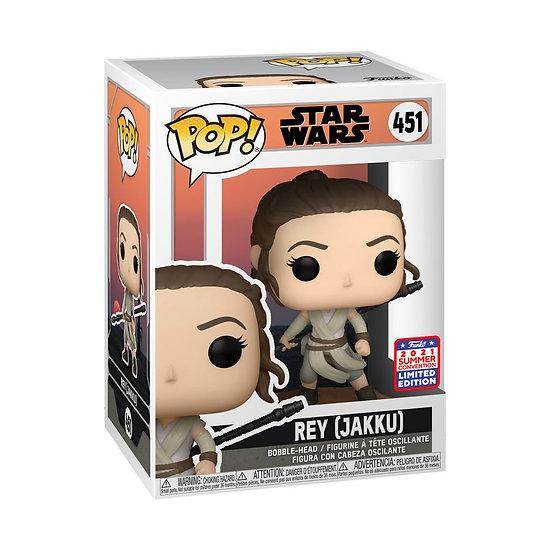 Pop! Vinyl FunKon 2021 Star Wars: Across the Galaxy - Rey (Jakku)