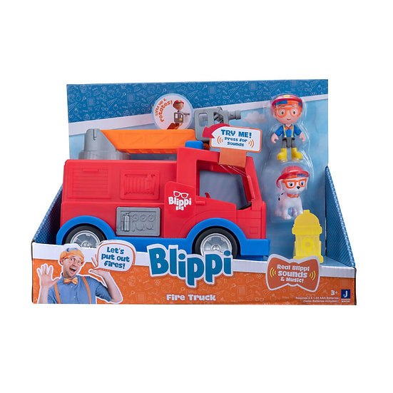 Blippi Feature Vehicle - Fire Truck