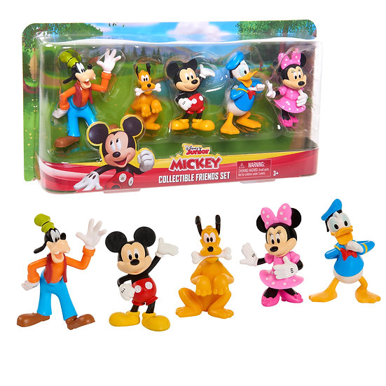 Mickey Mouse Collectible Figure Set, 5 Pack