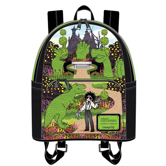 Loungefly Edward Scissorhands - Topiary Mini Backpack