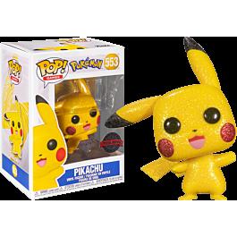 Pokemon - Pikachu Waving Diamond Glitter Pop! RS
