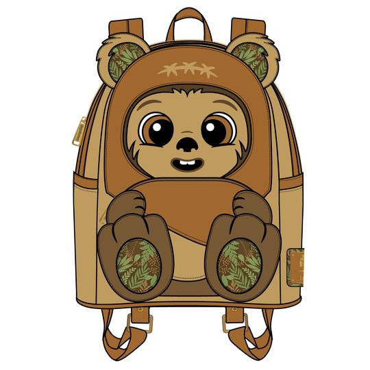 Loungefly - Star Wars - Wicket Footsie Mini Backpack