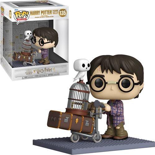 Harry Potter - Harry Trolley 20th ANNIV Pop! Deluxe!