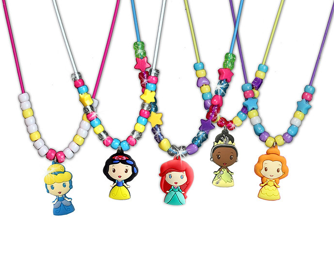 Disney Princess Necklace Set