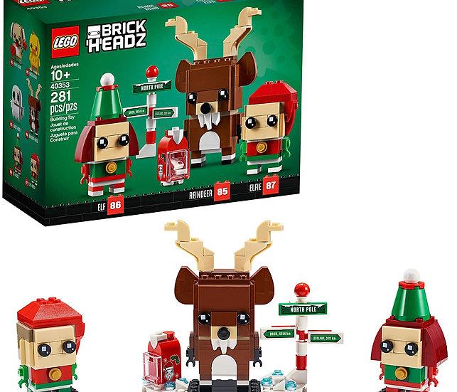 LEGO Brickheadz Reindeer, Elf & Elfie 40353