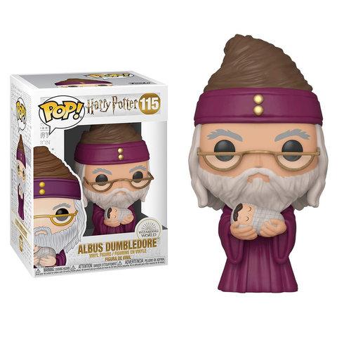 POP! Vinyl Harry Potter - Dumbledore with Baby Harry 115