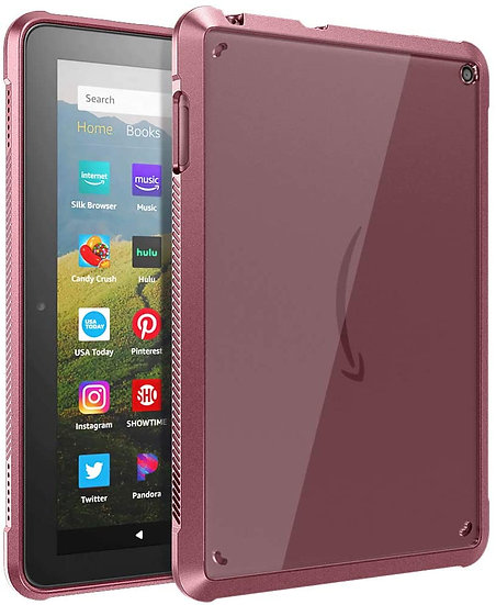 TiMOVO Case for Fire HD 8 Tablet and Fire HD 8 Plus Tablet - Plum