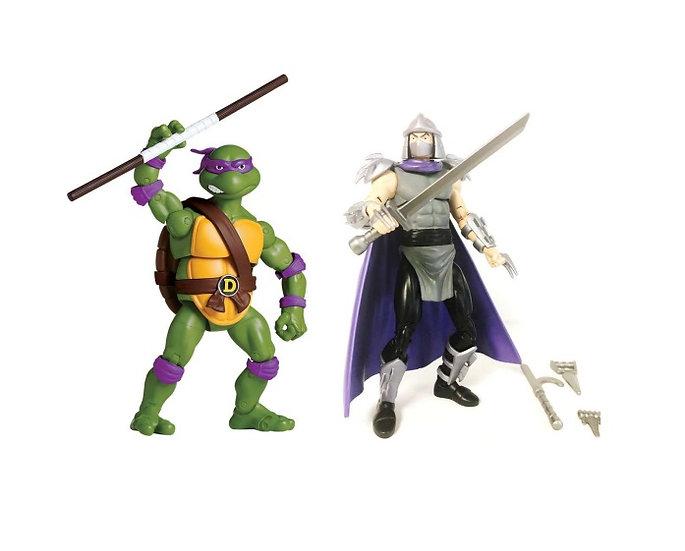 Teenage Mutant Ninja Turtles (TMNT) Classic Collection Don Vs Shredder