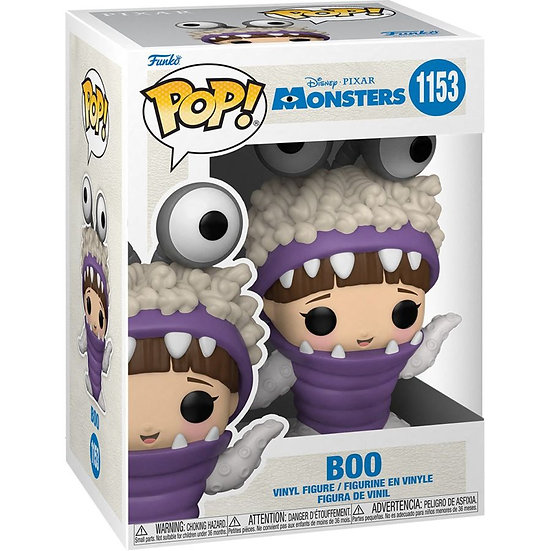 Funko Pop! Vinyl  Monsters Inc - Boo with Hood Up 20th Anniversary
