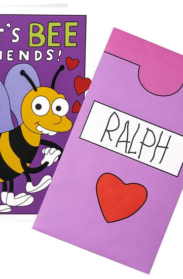 Simpsons Lets bee friends cards