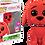 Thumbnail: POP! Vinyl Clifford the Big Red Dog  Flocked US Exclusive Pop! Vinyl [RS]