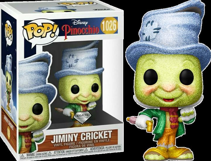 Pop! Vinyl Pinocchio - Street Jiminy Diamond Glitter US Exclusive