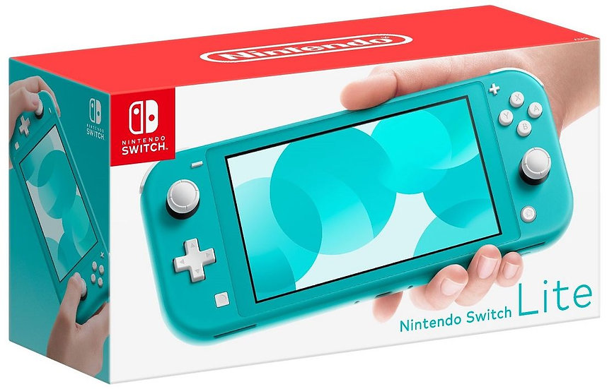 **Nintendo Switch Lite Console - Turquoise