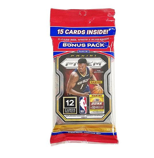 2020-21 Panini Prizm Basketball 15 Card Multi Pack
