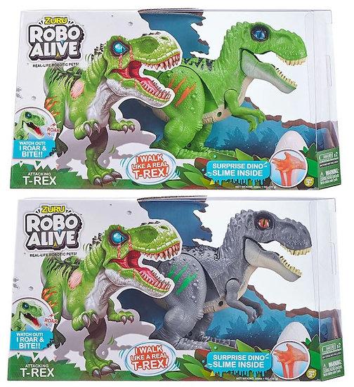 Zuru Robo Alive Robotic T-Rex with Slime assorted