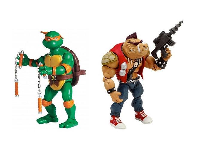 Teenage Mutant Ninja Turtles (TMNT) Classic Collection Mikey Vs Bebop