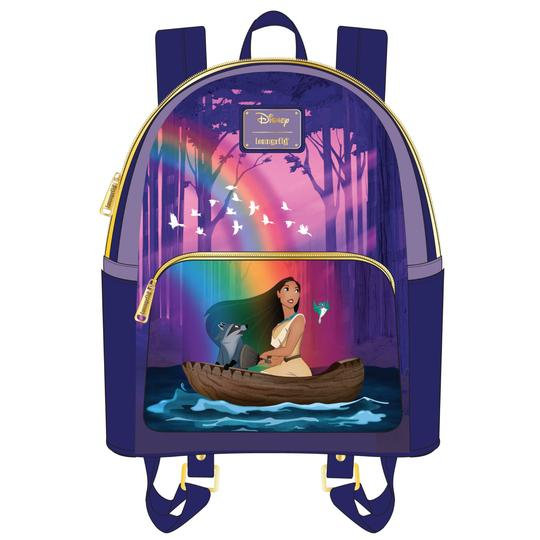 Loungefly - Pocahontas - Just Around River Bend Mini Backpack