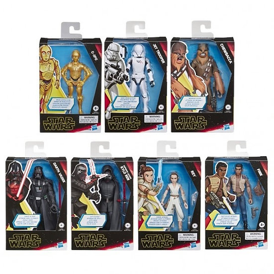 """Star Wars Galaxy of Adventures E9: Rise of Skywalker 6"""" Action Figure Assorted"""
