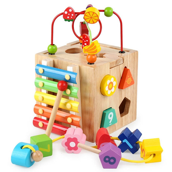 Learning Fun Activity Cubes Assorted
