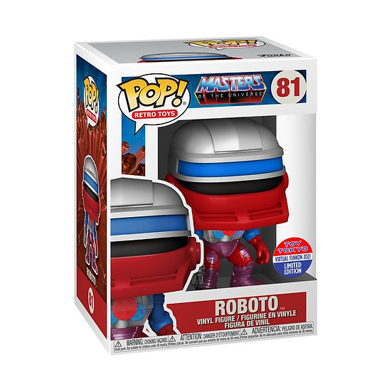 Pop! Vinyl FunKon 2021 Masters of the Universe - Roboto